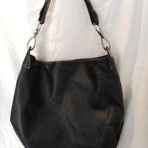 Vera Pelle Pebbled Leather Handbag/Tote/Shoulder